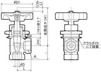 DH-32PC-R Br Needle Valves Manual Angle Type Needle Valves ... on